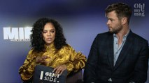 Chris Hemsworth And Tessa Thompson Respond To Questions About The Release Of Men In Black: International (VIDEO)