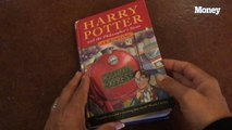 This first edition copy of Harry Potter was just sold at auction for over $34,000