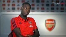 New Arsenal winger Nicolas Pepe talks about his club record move from Lille