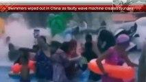 Une piscine à vague se transforme en « tsunami » et fait 44 blessés