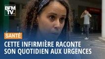Cette infirmière de Saint-Denis explique pourquoi elle est en grève