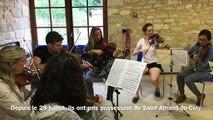 Dordogne : l'académie baroque internationale investit Saint-Amand-de-Coly