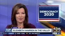 Elizabeth Warren to hold town hall in Tempe