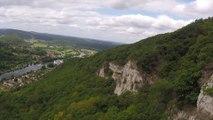 Revivez le vol en parapente au-dessus de Besançon  en caméra embarquée