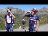 Dans la roue de l'Equipe de France espoirs en Maurienne