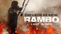 Rambo: Last Blood Trailer 09/20/2019