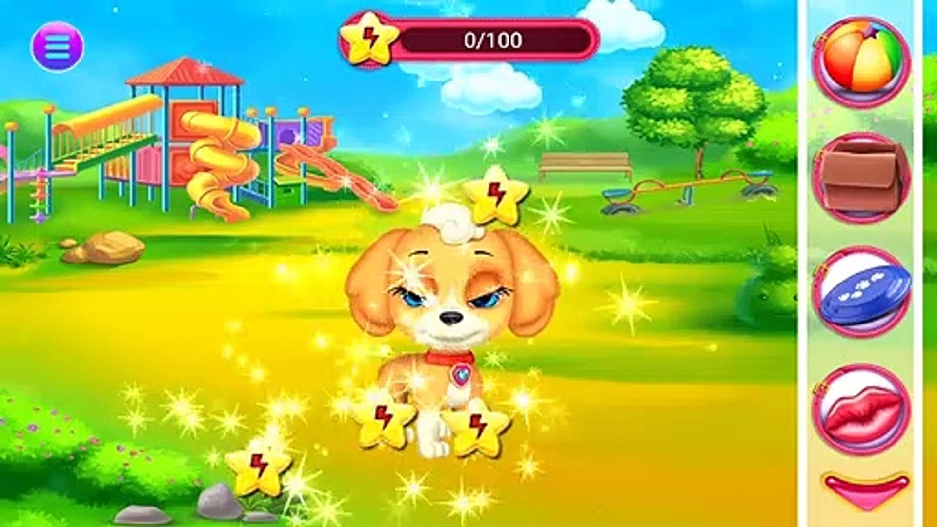 Play My Cute Little Pet Puppy Pet Care Kids Game - Let's Take Care Of Cute Puppy Mini Games For