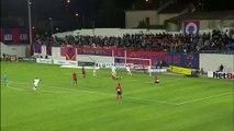 23/09/15 : Giovanni Sio (90') : GFC Ajaccio - Rennes (1-1)