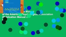 [READ] Publication Manual of the American Psychological Association (Publication Manual of the