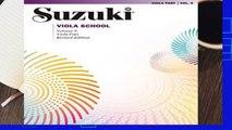 Suzuki Viola School, Vol 6: Viola Part: Viola Part v. 6 (Suzuki Method International S.)