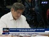 Honasan warns Malacañang in handling NBI report on Batanes shooting