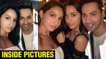 INSIDE Photos And Videos | Varun Dhawan, Nora Fatehi, Shraddha Kapoor | Street Dancer 3D