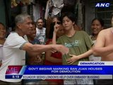 Gov't begins marking San Juan houses for demolition