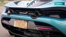 2019 Blue McLaren 720S Spider - High-Performance supercar