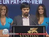 Pacquiao draws crowds at Macau presser