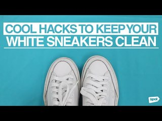 Cool Hacks to Keep Your White Sneakers Clean