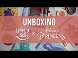 Unboxing the Happy Skin x Disney Princess Collection