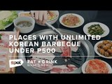 Places with Unlimited Korean Barbecue Under P500