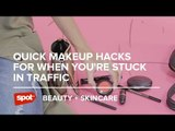 Quick Makeup Hacks for When You're Stuck in Traffic