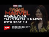 Gemma Chan Talks Captain Marvel With Spot.ph