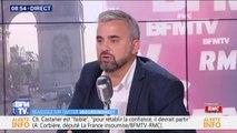 """Alexis Corbière: """"Pour rétablir la confiance, Christophe Castaner devrait partir"""""""