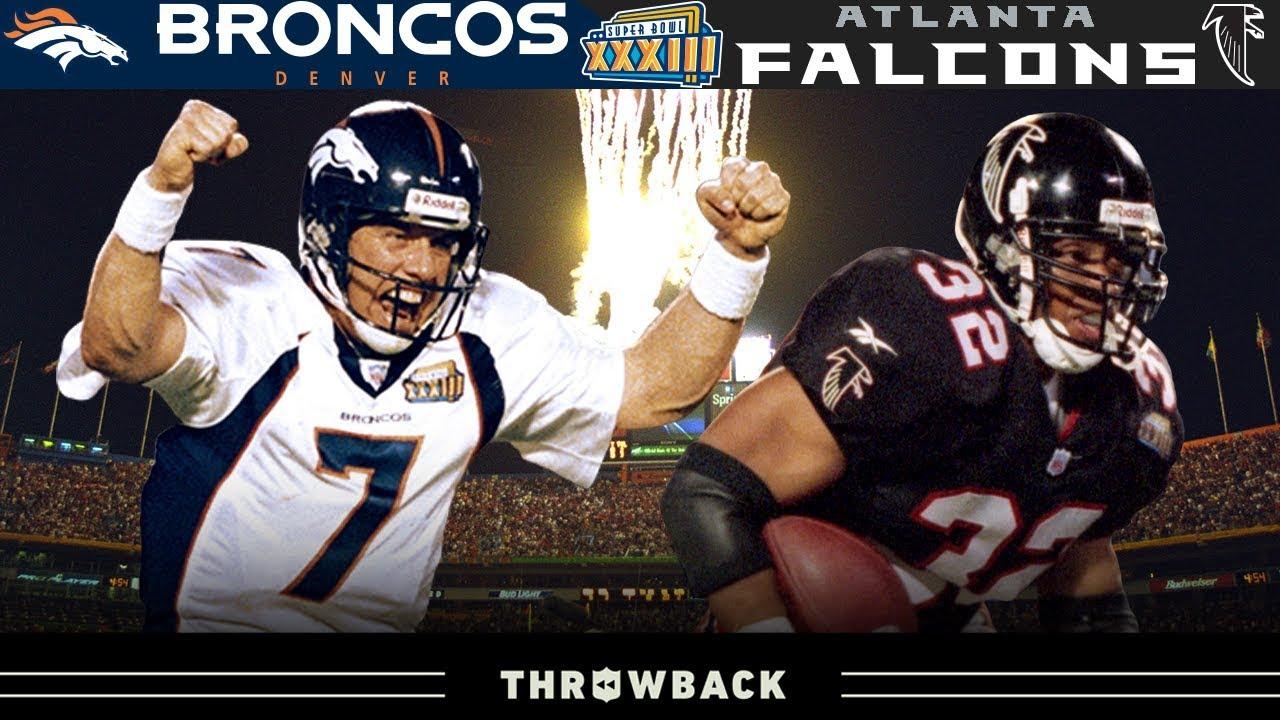 John Elway's FINAL Act- -Broncos vs. Falcons, Super Bowl 33-