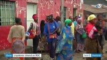 Ebola : l'épidémie s'étend en RDC