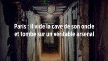 Paris : il vide la cave de son oncle et tombe sur un véritable arsenal