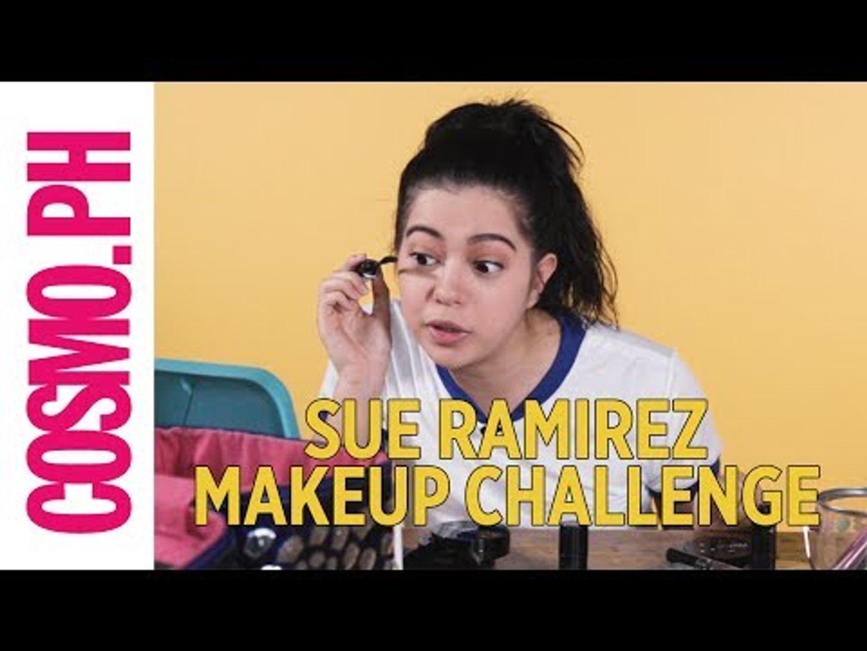 Sue Ramirez 5-minute Makeup Challenge