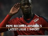 Pepe becomes Arsenal's latest Ligue 1 import