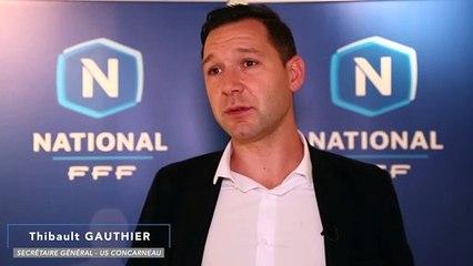 """Concarneau - Thibault Gauthier """"Ne pas revivre la même saison"""""""