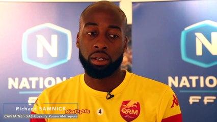 "Quevilly Rouen - Richard Samnick ""En National, ça va très vite"""
