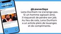 Le geste de Lena Dunham envers Brad Pitt choque les internautes
