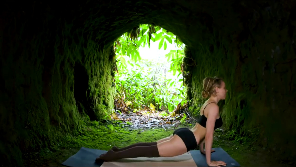 Yoga Cave Natural Day Namaste