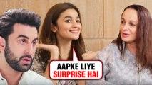 Alia Bhatt REVEALS Future Plan With Ranbir Kapoor? | Morning Routine | Sadak 2