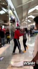 Une employée de Foot Locker se fait projeter en essayant d'arrêter un voleur