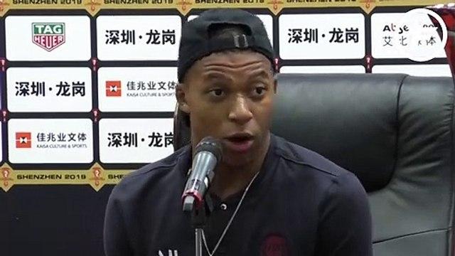 Kylian Mbappé s'excuse pour sa sortie aux Trophées UNFP mais...