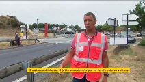 Autoroutes : un tiers des Français les prend pour des poubelles à ciel ouvert