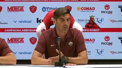 """Fonseca dopo Perugia-Roma: """"Non sono del tutto soddisfatto, Dzeko è con noi al 100%"""""""