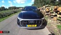 2020 Audi Q8 S Line |  Q8 50 TDI Quattro Drive Review Long + Acceleration Sound