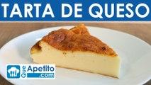 Receta de tarta de queso fácil y casera | QueApetito