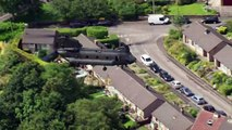 RAF Chinook helicopter helps secure Whaley Bridge dam