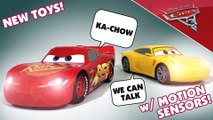 CARS 3 Movie Moves Lightning McQueen Disney Pixar Toy Unboxing Mattel Keith's