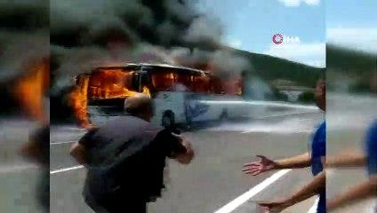 Balıkesir Gökçeyazı'da Yolcu Otobüsü Yangını: 5 Ölü