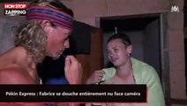 Pékin Express : Fabrice se douche entièrement nu face caméra (vidéo)