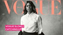 Laverne Cox is the first trans woman on British Vogue's cover