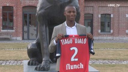 Découvrez les premiers pas de Tiago Djalo au Domaine de Luchin