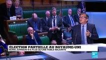 Élections partielle au Royaume-Uni : Johnson n'a plus qu'une faible majorité parlementaire