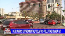 DENR warns environmental violators polluting Manila Bay