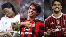 Brasileiros mais caros da história do Milan